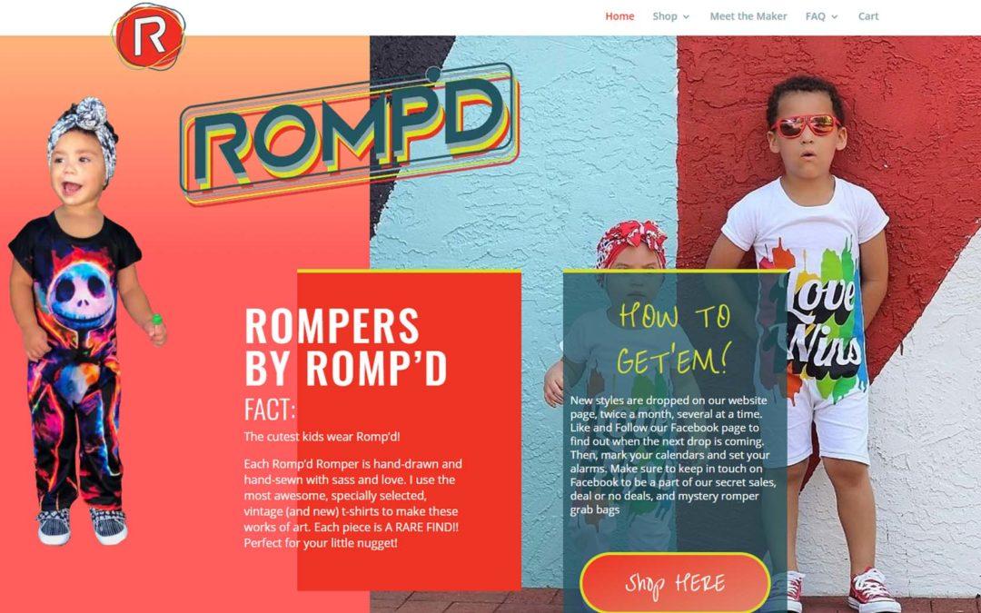 Romp'd Web Design